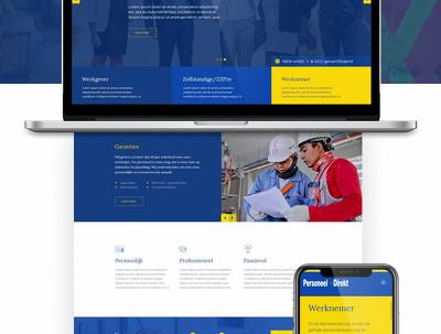 Design truly unique website homepage (PSD / Adobe XD).