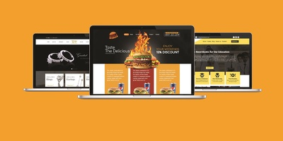 Build a responsive, optimized informational website