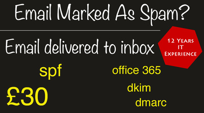 Make sure emails are delivered to inbox, not  spam/ junk folder