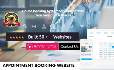 Appointment Booking Website Using Wordpress