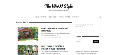 Guest post on Home, Family, Lifestyle site Thewowstyle.com