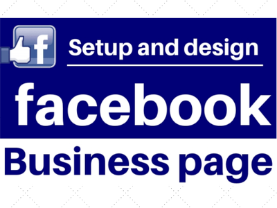 Create and manage Facebook business page or fan page