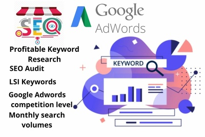 Do depth seo keyword research and competitor analysis