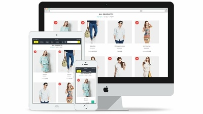 Create an Online Store eCommerce Website