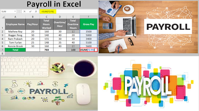 Payroll Services - Prepare, Set up & Calculate your Payroll