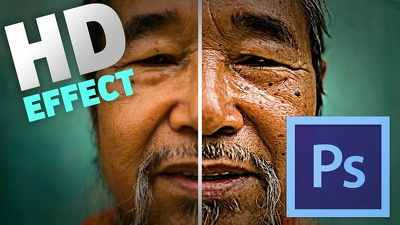 Enlarge and Retouch your image without losing quality