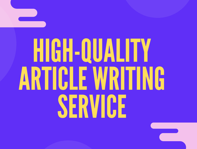 Do SEO optimized articles writing,paper content and blog writing