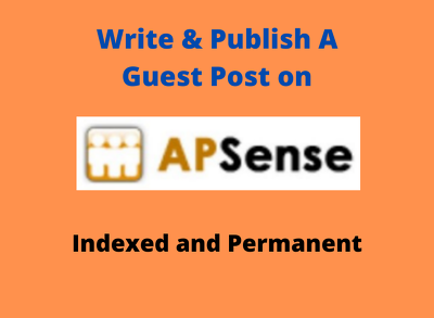 Write & Publish Guest Post on APSense.com with Indexed Link