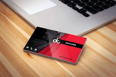 Design elegent minimal logo or business card