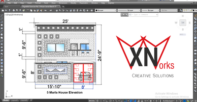 Design your Architectural Drawings in AutoCAD (2D/3D)