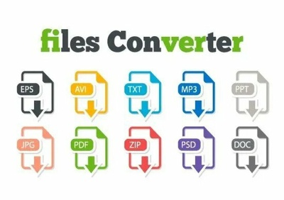 i will convert almost any file to any file upto 3 files