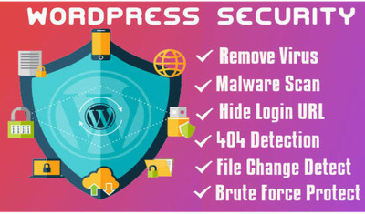 I will enhanced your wordpress security and protect from malware