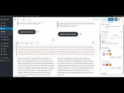 Customize WordPress Theme Gutenberg Color Palette (10 Colors)