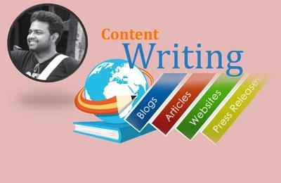 Write you 100% UNIQUE blogs/articles/website contents