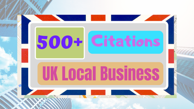Make 500+ UK Local Citations For Your Business