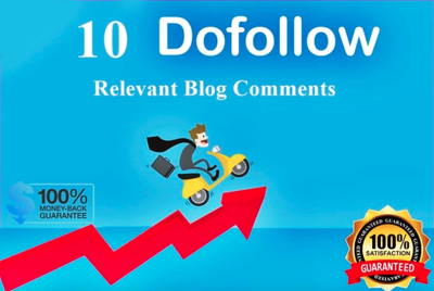 I will make 10 relevant blog comment for yourI will make 10 blog