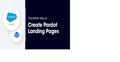 I will design pardot responsive editable landing pages template.