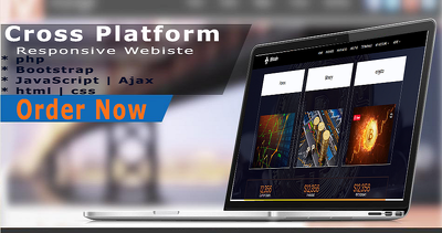 Build a personal website or company website or charity website