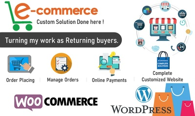 WordPress eCommerce Website using WooCommerce Store