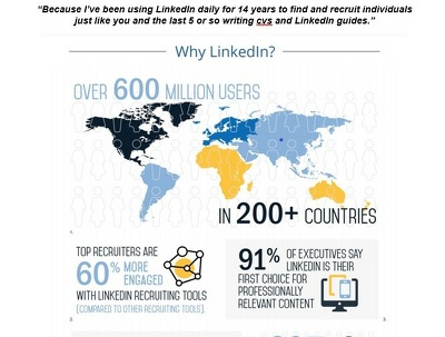 Send you a detailed LinkedIn optimisation guide