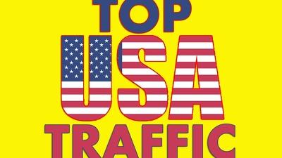 Organic Website Traffic From Usa, 1min+ AVG visit time