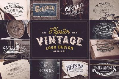 Design 2 Vintage Hipster Logo Badges in 24 hours