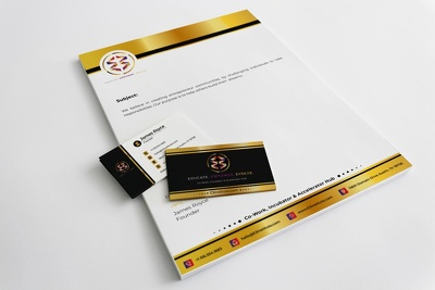 Design Double-Sided Business Card for you.