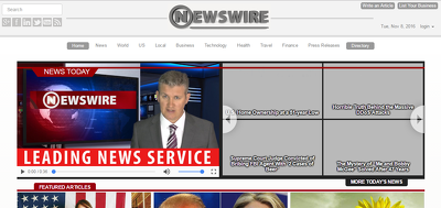 Guest post on NewsWire.net - NewsWire Do-follow DA61, PA67