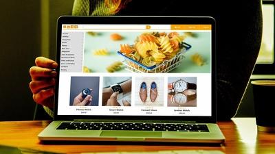 Develop eye-catchy eCommerce Website