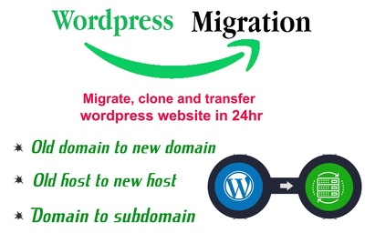 I will migrate, clone and transfer wordpress website in 24 hours