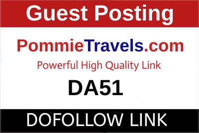 Guest Post on Pommietravels.com - PommieTravels