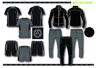 Design a 4 piece athleisure range