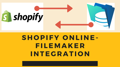 Integrate Shopify & Filemaker Server