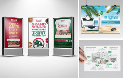 Design a Creative Poster or Double sided Flyer/Leaflet
