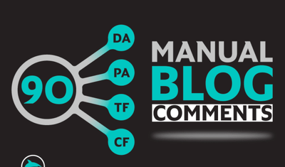 Make 90 high authority dofollow blog comments SEO backlinks