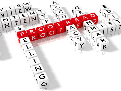 Professionally Proofread Web Content up to 1000 Words