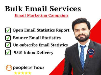 Send 10,000 Bulk Emails (Email marketing, Email blast)