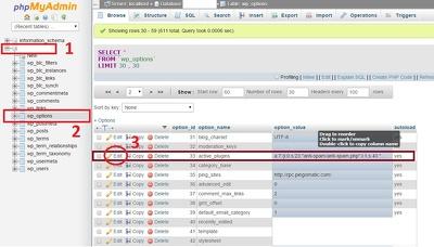 Recover a password for your CMS (e.g joomla, Wordpress) website