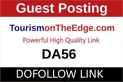 Guest Post on Tourismontheedge.com - Tourismontheedge