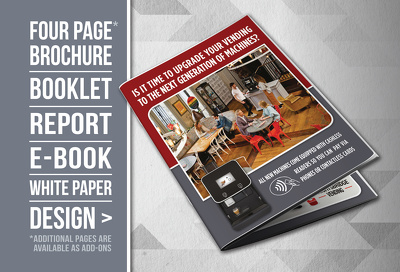 create a premium brochure design for your business