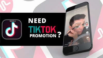 Promote your Tik Tok account to gain followers and likes
