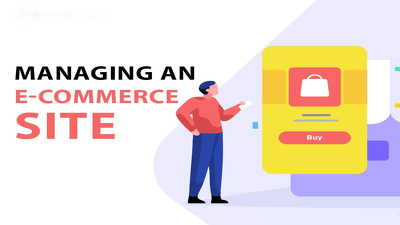 Manage your Ecommerce website for a week