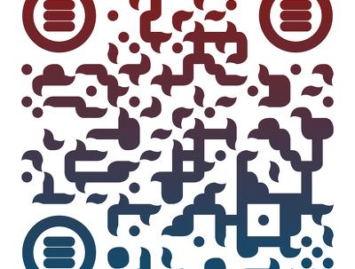 Create a custom qr code with your company logo