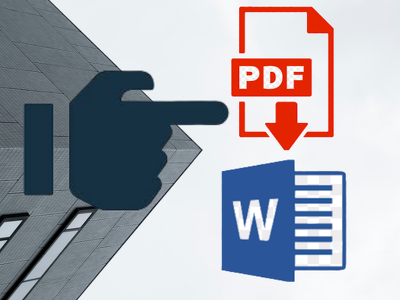 Convert, type, edit 30 pdf pages to MS Word/ Excel/ Powerpoint