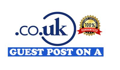 Guest post UK blog quality backlinks