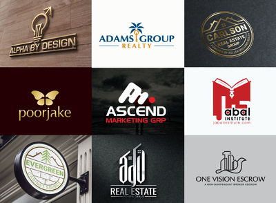 Design professional logo, unlimited revisions & final files