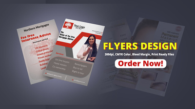 Design eye-catching creative flyer, poster, leaflet or brochure