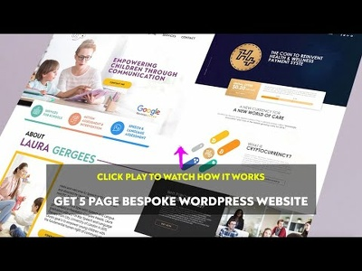 Design & develop Bespoke WordPress Website that sells & get lead