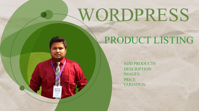 Add 100 products to your wocommerce website