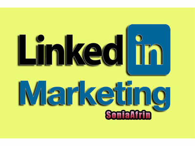 Do linkedin marketing management and grow connection for you